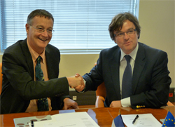 Partenariat ESC Rennes School of Business et EHESP, Olivier APTEL et Antoine FLAHAULT