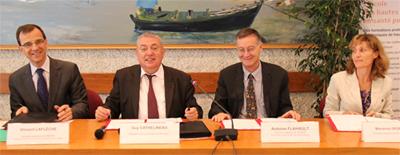 Signature accord cadre IRSET INERIS