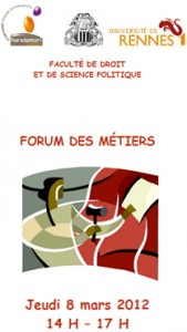 Forum des métiers 8 mars 2012