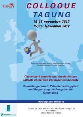Citoyenneté européenne, circulation des patients et maîtrise des dépenses de santé