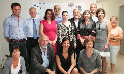 Visite d'étude d'une délégation brésilienne de la Fiocruz en France