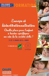 Europe et désinstitutionnalisation : Quelle place pour l'enfant à besoins spécifiques au sein de la société civile ?