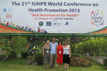 21ème conférence mondiale de l'Union internationale de promotion de la santé (UIPES)