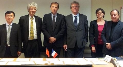 Signature d'un accord de coopération avec l'Ecole doctorale de l'Académie des Sciences Sociales de Chine