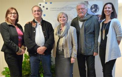 2 consultants du réseau de la santé québécois à l'EHESP – 18 novembre 2013