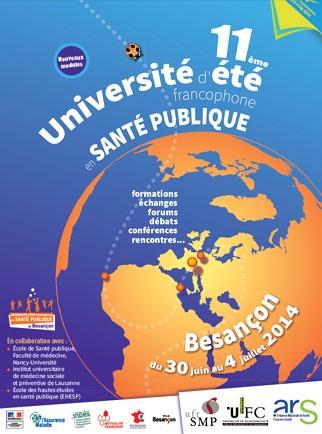11ème Université d'été francophone en santé publique