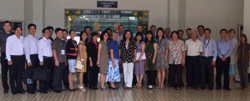 3e promotion de stagiaires vietnamiens