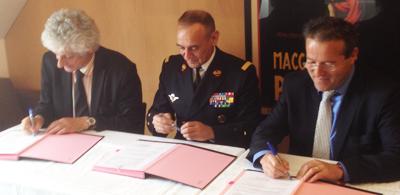 Signature conventions de partenariat pour le Master analyse et management des établissements de santé