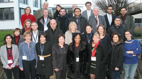 Tuteurs de stage internationaux, jurys extérieurs et membres de l'EHESP