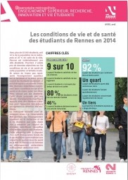 Les conditions de vie et de santé des étudiants de Rennes en 2014