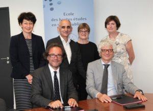 L'EHESP et l'AFDS renforcent leur collaboration en signant une convention de partenariat