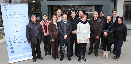 Formation de représentants du Ministère de la santé marocain sur la régionalisation du système de santé français
