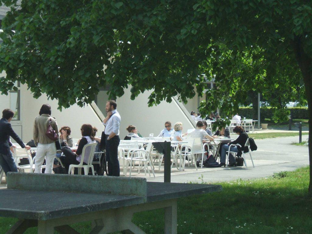Terrasse du restaurant - Rennes