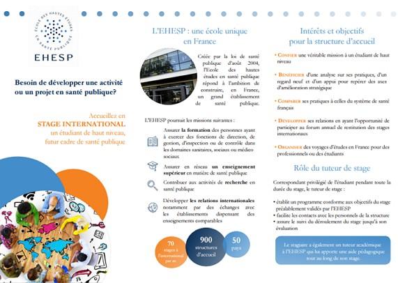 Découvrez notre brochure et le calendrier des stages internationaux