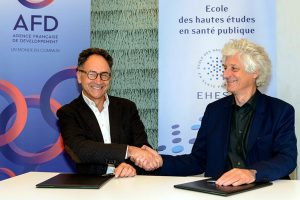 Signature du partenariat EHESP et AFD