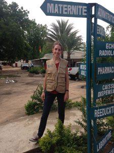 Sarah Brousse - Photo : Etienne Bekolo Ekanga