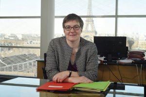 Portrait de Cécile Courrèges, directrice générale de l'offre de soins - 2018