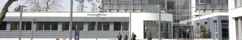 Vue du campus de l'EHESP à Rennes en 2019