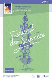 Affiche du Festival des sciences 2019