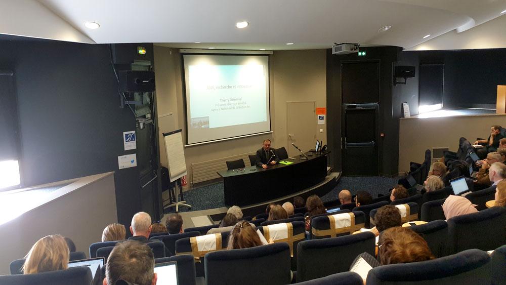 Vue de la conférence de Thierry Damerval à l'EHESP à Rennes le 12 novembre 2019