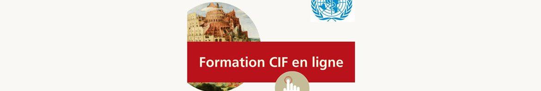 Formation en ligne CIF OMS en français