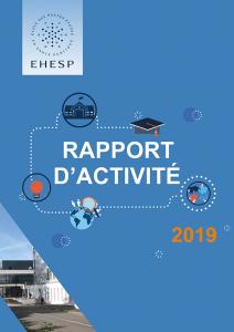 Rapport d'activité 2019 de l'EHESP